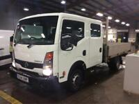 Nissan Cabstar 2.5dCi ( 140 ) LWB 35.14 Pro + Drop Side Double Cab, Alloy Bed