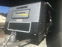 2016 Olympic MARATHON 18 Bunk Caravan Unanderra Wollongong Area Preview