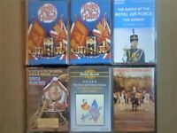 A-Z MILITARY MARCHES BRASS BANDS SOUSA DRAGOON GUARDS RAF AIRMAN GLORY PRERECORDED CASSETTE TAPES