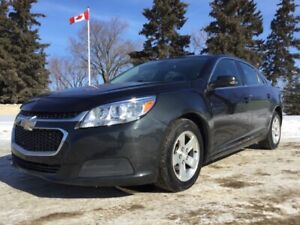 2015 Chevrolet Malibu, 1LT-PKG, AUTO, LOADED, CLEAN IN AND OUT!!