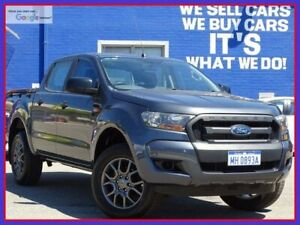 2016 Ford Ranger PX MkII XL Charcoal Grey 6 Speed Manual Utility Welshpool Canning Area Preview