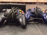 X BOX & CONTROLLERS & GAMES
