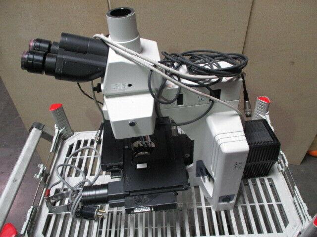 Nikon Eclipse ME600L Microscope, ME600, 100-240V, PRIOR H101A, N2KV, 451830