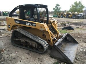 2006 JOHN DEERE CT 322 TRACK SKID STEER London Ontario image 3