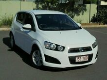 2013 Holden Barina  White Automatic Hatchback Woodridge Logan Area Preview