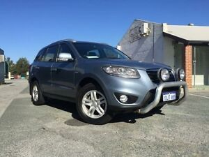 2010 Hyundai Santa Fe CM MY10 Elite CRDi (4x4) Blue 6 Speed Automatic Wagon Beckenham Gosnells Area Preview