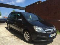 Vauxhall Zafira 1.6 i 16v Life 5dr NEW SHAPE ++ 7 SEATER