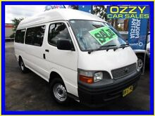 2003 Toyota Hiace RZH125R Commuter White 5 Speed Manual Bus Minto Campbelltown Area Preview
