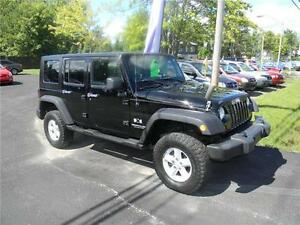 2007 Jeep Wrangler Unlimited X Garantie 12 mois Disponible