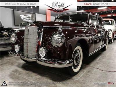 1952 300-Series  1952 Mercedes-Benz 300 Series -