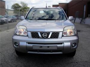 2005 NISSAN X-TRAIL,4X4,LE MODEL,VERY CLEAN,LEATHER,ROOF