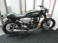 Hanway Cafe 125cc Motorcycle Brand NEW. Finance From £15 per week!!