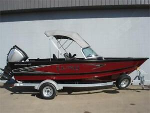 2019 Lund Crossover XS 1875 with an Evinrude 175HP G2