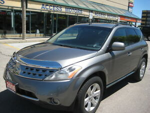 "2006 Nissan Murano, AWD, Sunroof, Extra Clean, """"CERTIFIED"""""