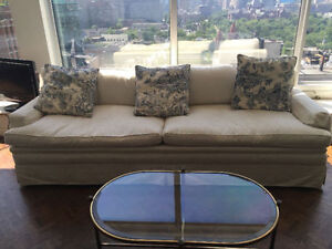NEW CUSTOM MADE Down Filled Chesterfield--HIGH END--Best Offer