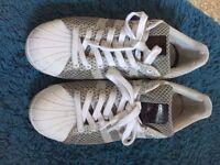 Adidas Originals Superstar Weave size 9