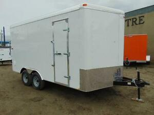 2016 Mirage Xcel Cargo 8.5X16 V-Nose Cargo Trailer w. Rear Ramp