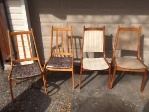 Misc Teak Dining Chairs