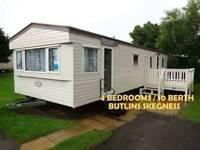 Caravan to Hire at Butlins Skegness