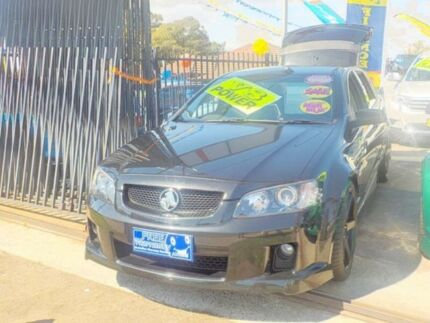 2008 Holden Commodore SS Black Automatic Wagon