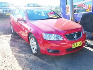 2011 Holden Commodore VE II MY12 Omega Sportwagon Red Hot 6 Speed Sports Automatic Wagon Mount Druitt Blacktown Area Preview