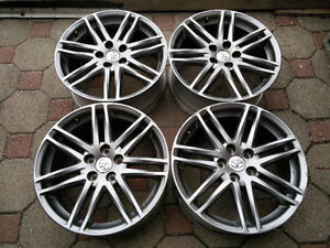 4 mags Toyota Sport Edition 18 pouces 7.5 offset39 5x114.3mm