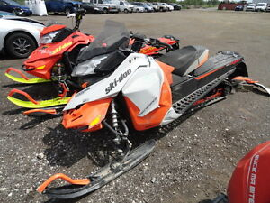 PARTING OUT 2014 SKI DOO 900 ACE SNOWMOBILE