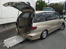 2005 Toyota Estima WHEELCHAIR DISABILITY Gold 3 Speed Automatic Campervan Underwood Logan Area Preview