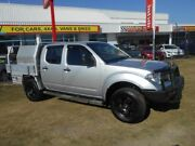 2008 Nissan Navara D40 ST-X Silver 6 Speed Manual Utility Kippa-ring Redcliffe Area Preview