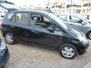 2004 Honda Jazz GLi Black Continuous Variable Hatchback Southport Gold Coast City Preview