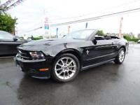 """2010 FORD MUSTANG V6 CONVERTIBLE (AUTOMATIQUE, MAGS 18"""", FULL!!)"""