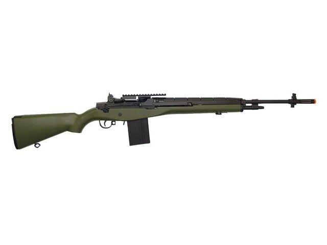 AGM M14 AEG Metal Gear Airsoft Rifle