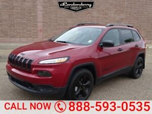 2017 Jeep Cherokee 4WD NORTH Heated Seats,  Back-up Cam,  Blueto