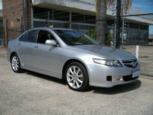 2007 Honda Accord MY06 Upgrade Euro Luxury Silver 5 Speed Sequential Auto Sedan Wangara Wanneroo Area Preview