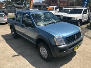 2004 Holden Rodeo RA LX Utility Crew Cab 4dr Auto 4sp 3.5i Blue Automatic Utility