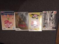 4 Wii game discs