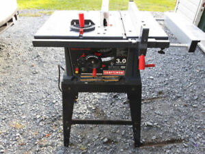 """***REDUCED $75*** 10"""" Craftsman Table Saw"""