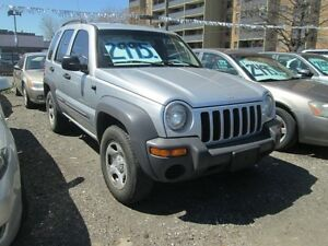 2003 Jeep Liberty Sport - ONLY 153,000 klm's.!
