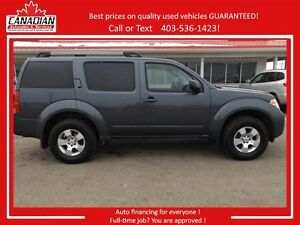 2012 Nissan Pathfinder S 4x4 7 passenger New brakes! REDUCED