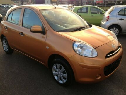 2012 Nissan Micra K13 ST Orange 4 Speed Automatic Hatchback Cleveland Redland Area Preview