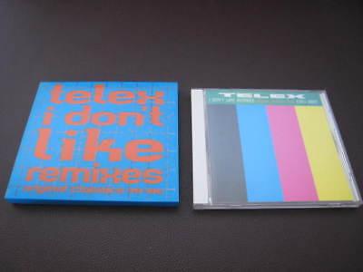 Telex I Don't Like Music Remixes Original Classics Japan CD Synth Lio Moulin