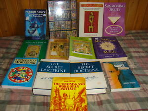 Numerous spiritual occult books, Crowley and more Kingston Kingston Area image 7