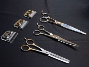 Exceptional clipper blade and shear sharpening available!