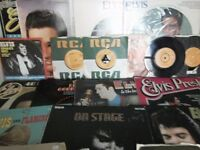 Elvis Presley vynil Records
