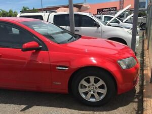 2010 Holden Commodore VEII Omega Red 4 Speed Auto Active Select Wagon Winnellie Darwin City Preview
