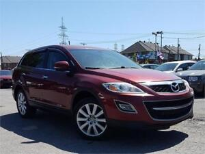 2010 Mazda CX-9 GT/4X4/7PASS/AC/TOIT/MAGS/CRUISE/CAMERA/CUIR