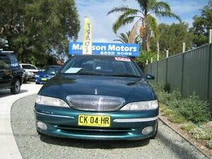 1998 Ford Fairlane NL Ghia Concorde Green 4 Speed Automatic Sedan Tuncurry Great Lakes Area Preview