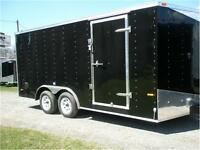 NEW ENCLOSED TRAILER MWT8.5 X 20' CARHAULER