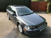 2001 Volvo V40 2.0T S - Estate - Clean PX to clear - Cheap car - Useful Estate