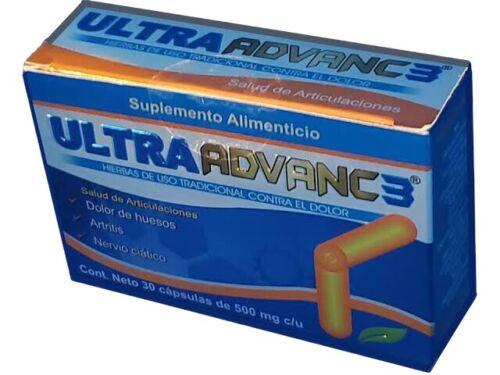 100% ORIGINAL‼️ ULTRA ADVANC 3 ORTIGA CURCUMA JENGIBRE GLUCOSAMINA CALCIO CORAL